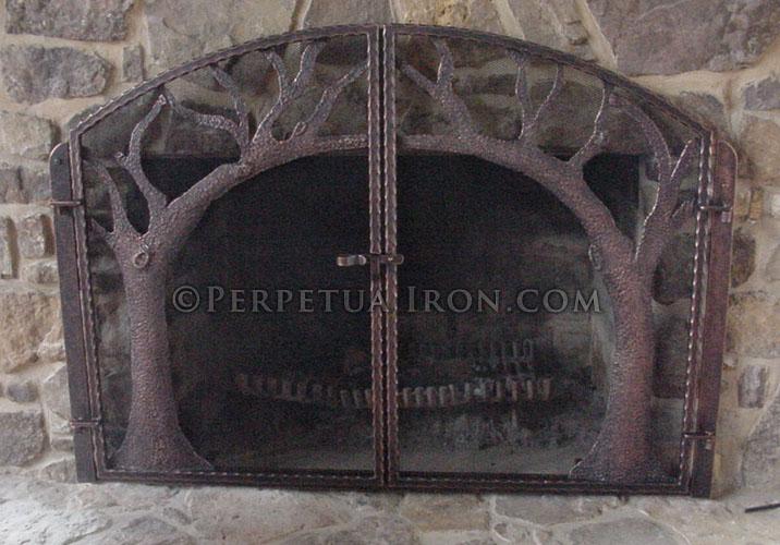 Perpetua Iron Firescreens
