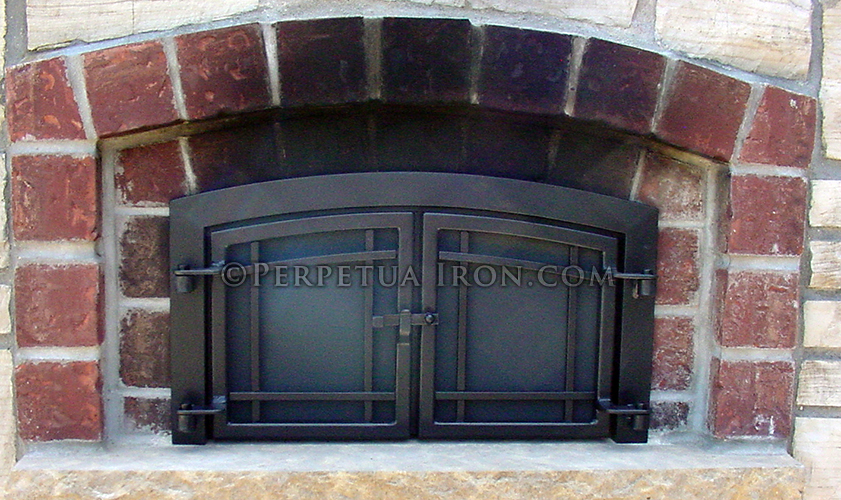 Inside Fit Fireplace Doors Installation Pleasant Hearth Fireplace